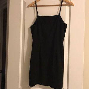 3/$40- Faux Velvet Mini Dress (S)